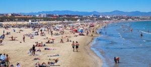 Playas de la Malvarrosa y Cabanyal