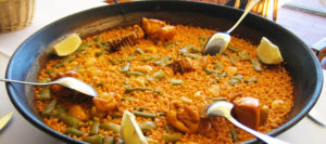 Ingredientes paella valenciana