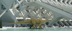 Huellas de los dinosaurios en Valencia